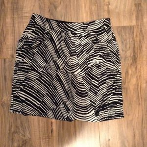 Banana Republic Mini Zebra Print Pettit 0